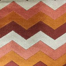 longwood chevron pattern cut velvet upholster fabric by the yard