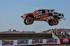 monster jam puff trucks mcgrath and brock fight on at elsinore rancho news