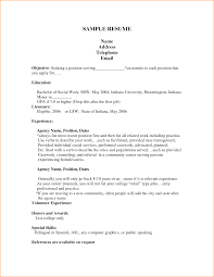 Federal Job Resume Template 14 Cv Template Student First Job Basic Job Appication Letter