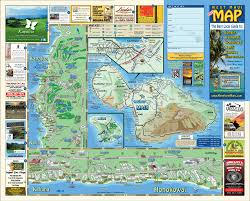 The 606 Map Maui Snorkeling Maps The Snorkel Store