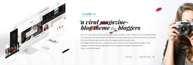 home design magazine instagram jasmin a viral magazine u0026 blog template by mexelina themeforest