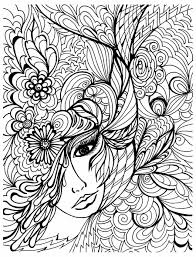 Halloween Coloring Pages Adults Images About Coloring Pages Ud Stress Relief On Pinterest Tattoos