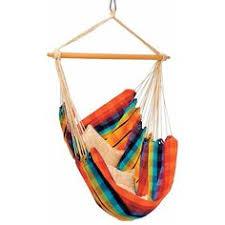 sunnydaze cool breeze double brazilian hammock with cotton weave