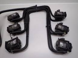evinrude johnson ficht 200 225 250 hp fuel injector set 5004284