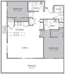 Luxury Apartment Floor Plans Apartment Floor Plan Bb Mosaic On Oakland Luxury Apartments
