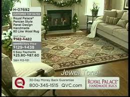 Royal Palace Rug Royal Palace Rug Show On Qvc Youtube