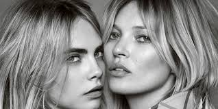 moss and kate moss and cara delevingne steam up new my burberry fragrance
