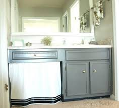 paint bathroom vanity ideas painting bathroom vanity before and after portia day 24