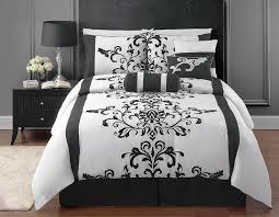 black and white bedrooms a symbol of comfort that is elegant black and white bedroom comforter sets ideas