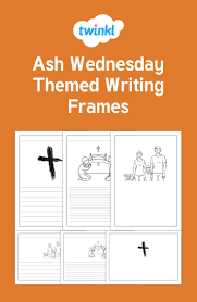 twinkl writing paper 204 best easter images on pinterest student centered resources great for a variety of different activities this set of writing frames includes a selection of different images all relating to ash wednesday themed