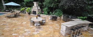 Long Island Patio by Paving Stone Select Natural Stone Pavers Tile Veneer Pool