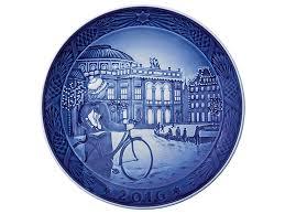 christmas plate royal copenhagen christmas plate 2016 plates collectibles