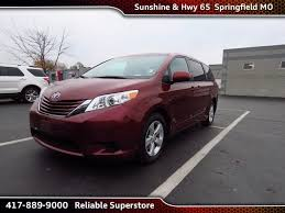 are toyota siennas reliable used 2015 toyota le for sale in springfield mo 109766a