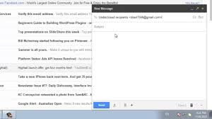 how to send an email to undisclosed recipients from gmail youtube