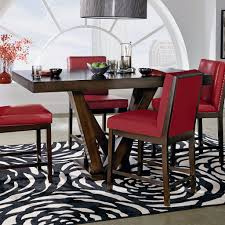 7pc Dining Room Sets Couture Elegance 7 Piece Counter Height Dining Set U2013 Adams Furniture