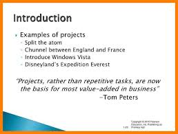 example of introduction of report opportunity sadness tk