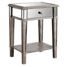 nightstands mirrored nightstands u0026 bedside tables pier 1 imports