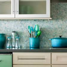 Blue Tile Backsplash Kitchen Light Blue And Turquoise Mosaic Tile - Blue backsplash