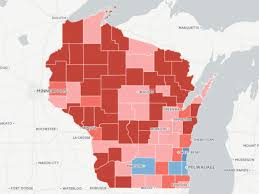 Map Of Wisconsin Counties by Map Where Wisconsin Moved Right