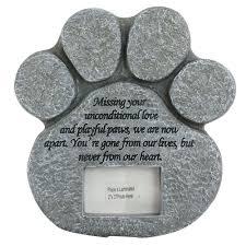 pet headstones pet grave marker ebay
