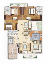 Bel Air Floor Plan by Floor Plan Capital City Chandigarh R N Investments Chandigarh