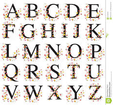 decorative alphabet royalty free stock photo image 30422945