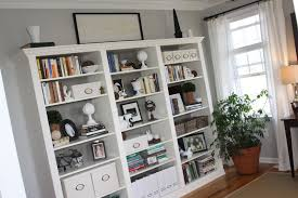 furniture simple white ikea billy bookcase with cozy berber carpet