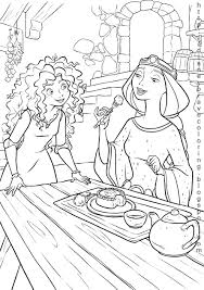 brave coloring pages along with many other disney characters