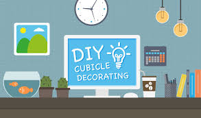 31 luxury diy office cubicle decorating yvotube com