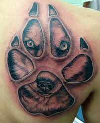 what your paw print tattoo means you for animal