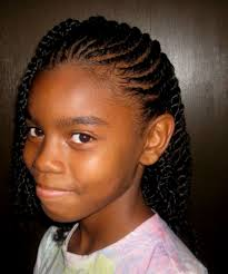 braids for natural blackgirls decorating party