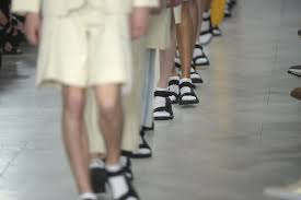 is sandals and socks trend a fashion statement or a fashion