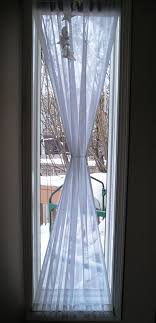 Blue Burlap Curtains Images About Curtain Ideas On Pinterest Burlap Curtains And Window
