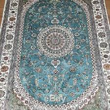 Aqua Silk Rugs Persian Silk Rugs Roselawnlutheran
