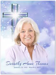 unique funeral programs 45 best featured templates memorials cards templates images on