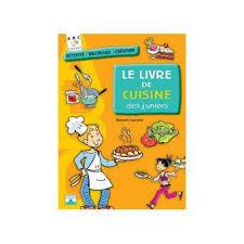 fnac livres cuisine livre de cuisine des juniors cartonné lacroix achat