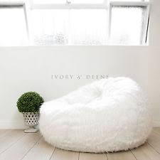 Faux Fur Bean Bag Chairs Faux Fur Bean Bags Ebay