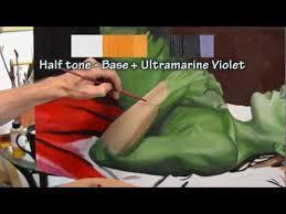 u0027inside the studio u0027 episode 5 painting flesh tones for