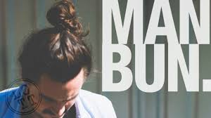 how to do a man bun or top knot men u0027s hairstyle lil off the