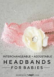 headbands for babies adjustable interchangeable headbands for babies somewhat simple