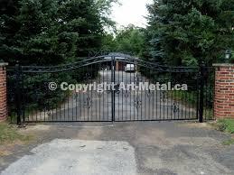 automatic driveway gates canada beautiful wrought iron driveway