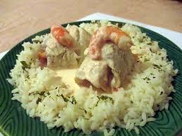 cuisiner du colin recette de roulé de colin aux crevettes sauce au saumon