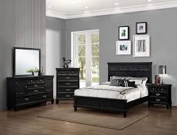Black Furniture Bedroom Set Hannah Black Bedroom Set Bedroom Furniture Sets Contemporary Black