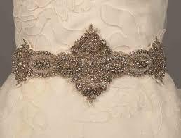 bridal sash ossai fw11 sh 17 embellished bridal sash belt discounted on sale