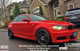 matte red bmw vmr v703 vb3 csl style wheels for bmw 5x120mm 18in 18x8 5 u0027 u0027 18x9