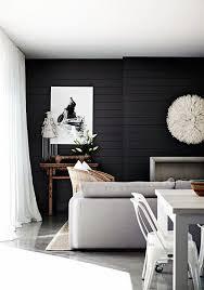Best  Black Home Ideas On Pinterest Black Rooms Black - Black and white family room