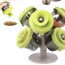 1 set creative tree stand spice rack flavoring organizer holder