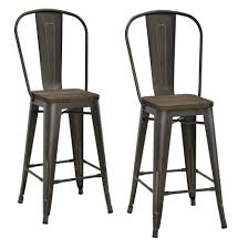 kitchen design awesome vintage kitchen stools backless metal bar