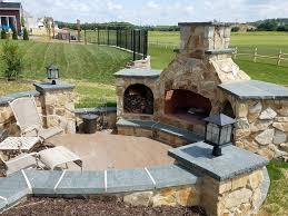 residential hardscape fireplaces u0026 pits bailey landscape