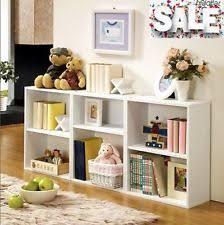 Cubic Bookcase Cube Storage Bookshelves Ebay